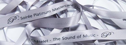 Ruban personnalisé Mastercard