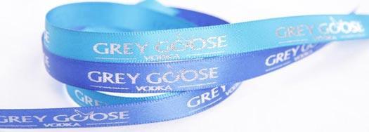 Ruban personnalisé Grey Goose Vodka