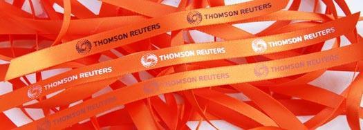 Ruban personnalisé Thomson Reuters