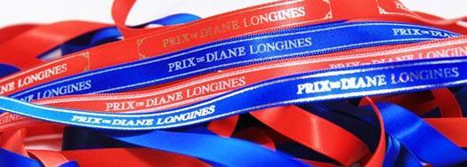 Ruban personnalisé Prix de Diane Longines